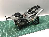 VFR750R[RC30]② 〜フレームほぼ完成〜 - WhiteDog工房