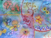 色よ舞え  水の滲みや  海の花 - 津野千佳 アートの日記
