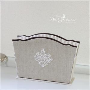 生徒さんの作品 2018.May① 生徒さんへ空席情報 - Atelier Petit Trianon   *** cartonnage & interior ***