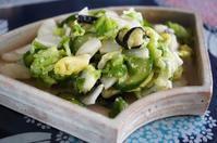 ■【簡単!!5分で漬物有り合わせ野菜で塩麹揉み漬け】 - 「料理と趣味の部屋」