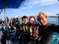 5月20日インターナショナルな日が続いてます - 沖縄・恩納村のダイビング・青の洞窟体験ダイビング・スノーケルご紹介