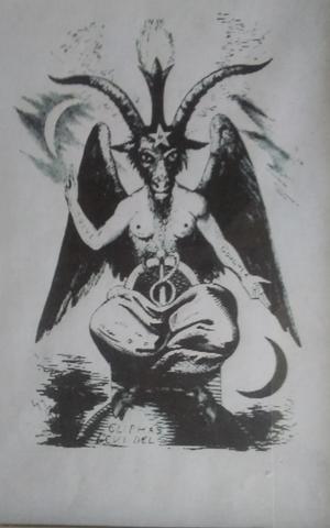 タロットカードの悪魔の絵とエリファスレヴィのバフォメットの絵の違い! - サーティンキュー