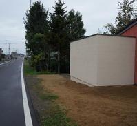 通り沿いの抽象的な白い箱 - 函館の建築家 『北崎 賢』日々の遊びと仕事