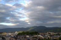 今朝の京都 - 京都ときどき沖縄ところにより気まぐれ