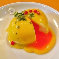 おうちビストロ。半熟卵に自家製マヨネーズをかけて、ウフマヨ - キムチ屋修行の道