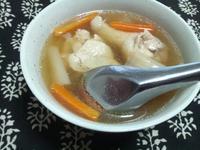 大根と手羽元のスープ - Minha Praia
