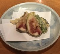 無花果(いちじく)の天ぷら! - [札幌・大通り] 酒とそば まるき blog