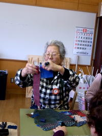 あーとびる麦生 で、ちくちくしてきました。。。 - にいがた銀花+チクチクちく針仕事の会 niigata ginka+Association of chiku-chiku needle work