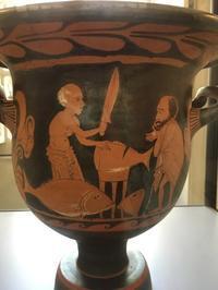 謎の男 - ローマの台所のまわり