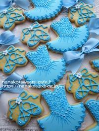 アイシングクッキー * バレエのクッキーセット - nanako*sweets-cafe♪