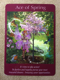 月曜のメッセージ:フェアリータロットカード・大天使ハニエルからのメッセージ - アトリエkeiのスピリチュアルなシェアノート