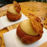 サクサクの石窯シュークリーム - 今日も食べようキムチっ子クラブ(料理研究家 結城奈佳の韓国料理教室)