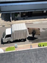 広島三越7Fギャラリー搬入 - およぐ、ジュゴン!