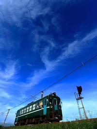 ブルースカイ ブルー - 今日も丹後鉄道