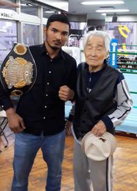 ボクシングジムで - 本多ボクシングジムのSEXYジャーマネ日記