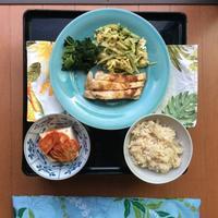 5月半ばの晩御飯   「晴れ 時々 ばんごはん」シリーズ - Hawaiian LomiLomi ハワイのおうち 華(レフア)邸