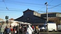 トリノの青空市場 Porta Palazzoポルタ・パラッツォ(場内編) - バリスタは只今シエスタ