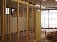 間仕切り建て込み~電気配線工事進捗。。 - 一場の写真 / 足立区リフォーム館・頑張る会社ブログ