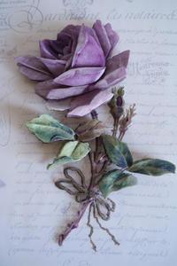 紫のバラ - シャドーボックス作品集