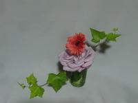 薔薇が散った!それでも美しく活けよう! - 活花生活(2)