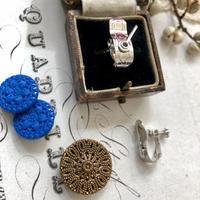 ●アンティーク&ヴィンテージ ボタンをイヤリングに♪ - 英国古物店 PISKEY VINTAGE/ピスキーヴィンテージのあれこれ