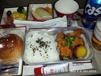 ◆ 機内食、その36 ソウルへ 「2016年8月」 - 空と 8 と温泉と