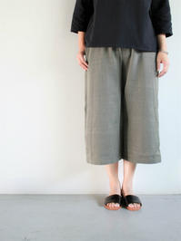 SEEKER x RETRIEVER Signature Culottes / Grey - 『Bumpkins putting on airs』