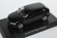 1/64 Kyosho AUDI A3 Sportback - 1/87 SCHUCO & 1/64 KYOSHO ミニカーコレクション byまさーる