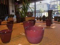 明後日まで個展開催中です、陶庫     益子 - 陶芸ブログ 限 無 窯    氷裂貫入青瓷の世界