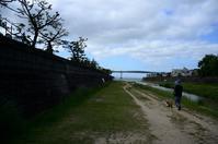 朝の散歩 芦屋川~芦屋浜 - 漂いながら