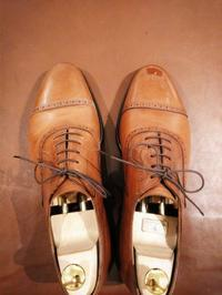 【GRENSON】カスタムシューレース&イルミナシャインBefore/After - Shoe Care & Shoe Order 「FANS.浅草本店」M.Mowbray Shop
