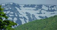 5月20日の雪 - 標高480mの窓からⅡ