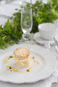 レモンのプチシャルロット - フランス菓子教室 Paysage Calme