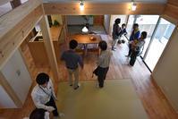 「北白川の家」建物完成見学会 - 無垢の木の家・古民家再生・新築、リフォーム 「ツキデ工務店」