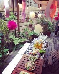 Gウィーク☆お庭でハートフルなピンク色のBBQ - ケセラセラ~家とGREEN。