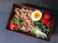 5/25生姜焼き丼弁当 - ひとりぼっちランチ