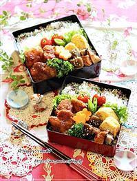 ソースチキンカツ弁当と今日のわんこ♪ - ☆Happy time☆