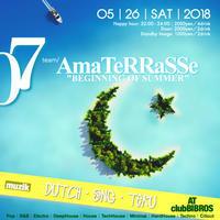 2018.05.26.SAT│- AMATERRASSE - vol.07 @clubBIBROS - CENDRILLON+