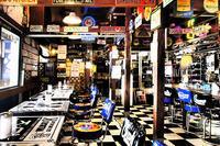 アメリカンスタイルのUKカフェ wild cat - スポック艦長のPhoto Diary