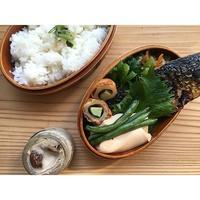 入れ歯と白子とポルチーニの茶碗蒸しBENTO - Feeling Cuisine.com