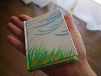 手製本 風薫る5月のノートできた - 手製本クリエイター&切絵コラージュ作家 yukai の暮らしを愉しむヒント