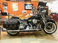 価格決定 Harley 1998 EVO FLSTS ヘリテイジスプリンガー 黒青 - The 30th Freedom カワサキZ&ハーレー直輸入日記
