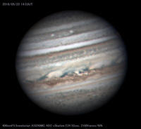2018年5月22日の木星 - 亜熱帯天文台ブログ