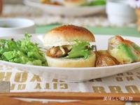 照り焼きチキンバーガー - 美味しい贈り物