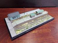 NEWジオラマ、「小さなローカル駅」完成 - e-stationショップブログ