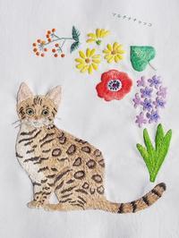ハンドメイドカフェ花と猫のキュートな手作り小物 - マルチナチャッコ