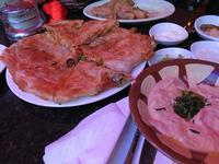 母の日ディナーはエジプト料理で  - NYの小さな灯り ~ヘアメイク日記~
