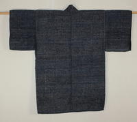 古布木綿佐渡紙縒り裂き織仕事着Japanese Antique Textile SadoNoragi  Koyori Sakiori  - 京都から古布のご紹介