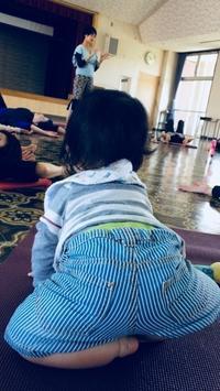 【赤ちゃんとヨガ】おとなしかった我が子 - YOGAバカ日記帳
