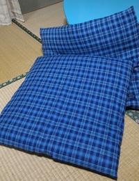 ミシンのフットコントローラー到着座布団のカバー制作 - 風恋華Diary